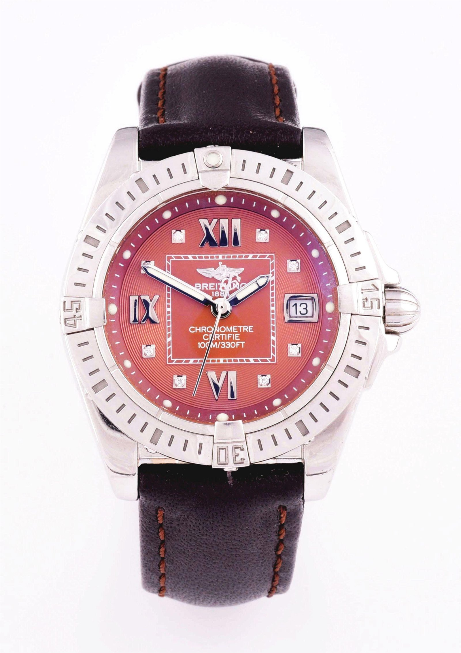 LADYS BREITLING GALACTIC COCKPIT LADY 32 CERTIFIED