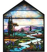 TIFFANY STAINED GLASS WINDOWS.