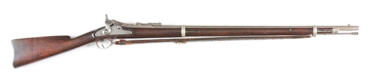 (A) SPRINGFIELD MODEL 1870 TRAPDOOR.