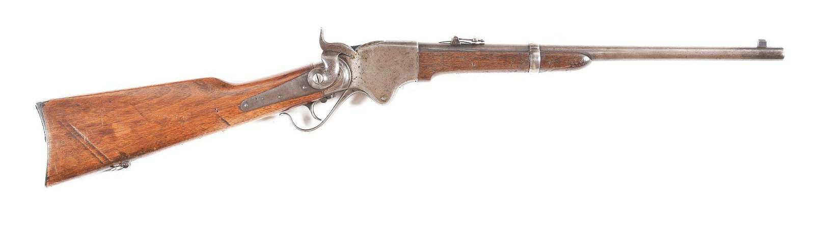 (A) SPENCER 1865 REPEATING RIFLE.
