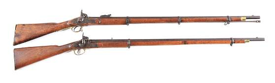 A LOT OF 2 BOND ARMS PERCUSSION AND TOWER 1862