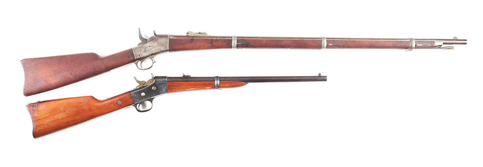 (A) LOT OF 2: NEW YORK STATE NATIONAL GUARD REMINGTON