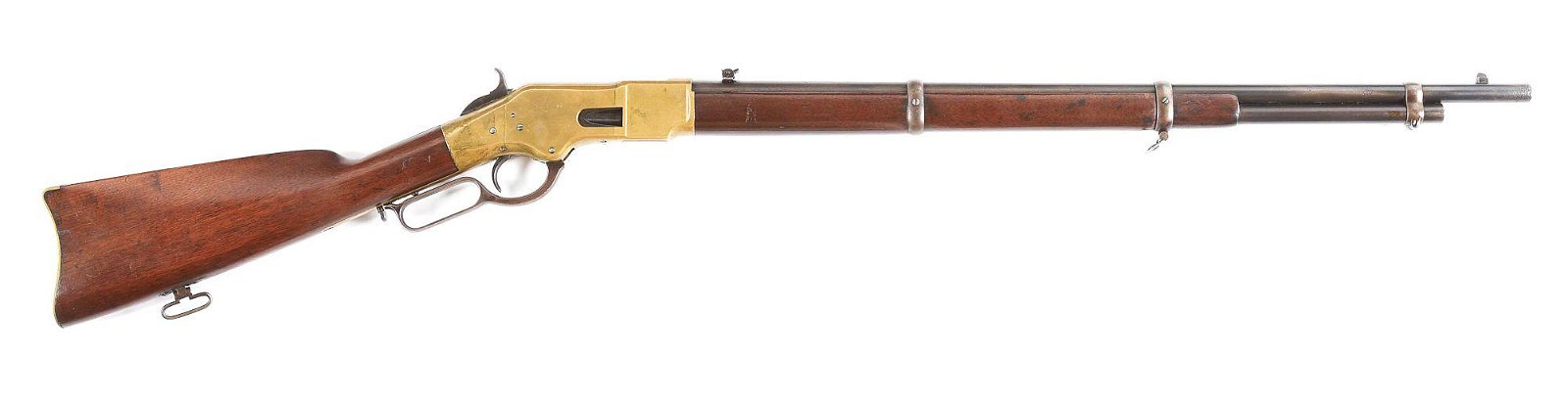 (A) WINCHESTER MODEL 1866 LOUISIANA STATE MILITIA