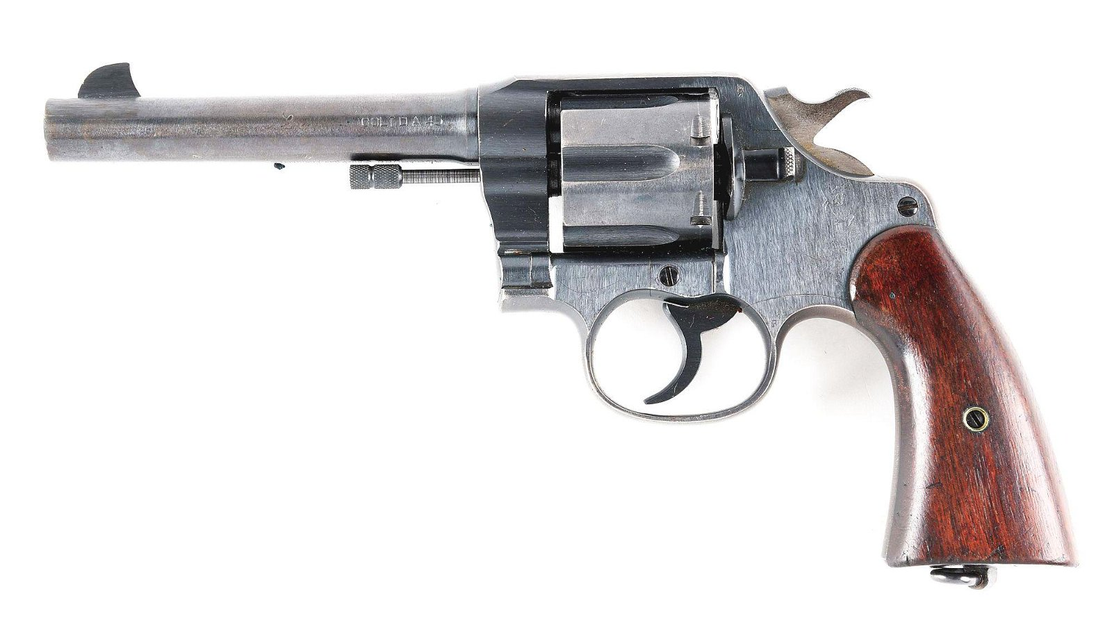 (C) COLT 1917 REVOLVER WITH HOLSTER AND AMMUNITION.