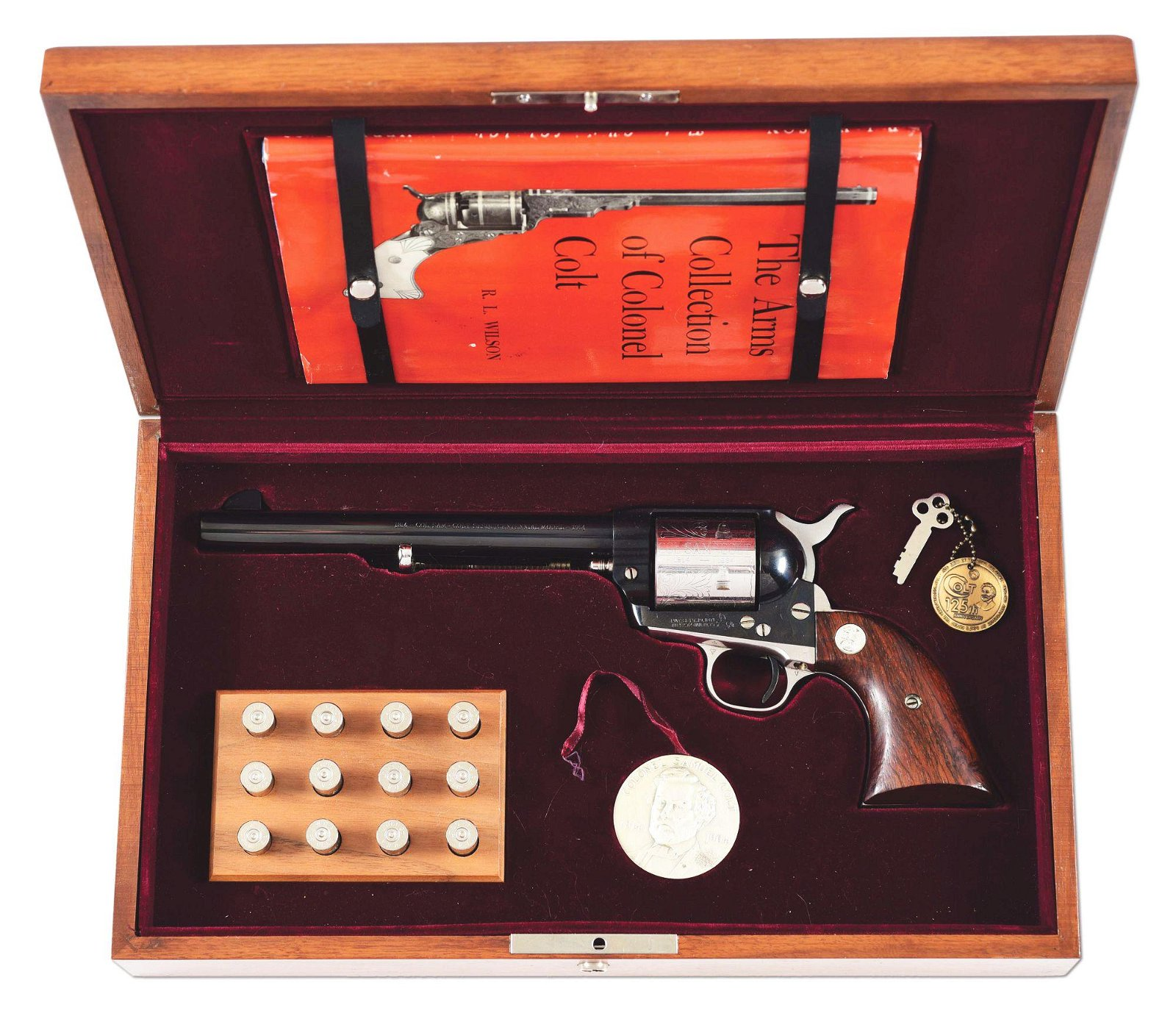 (C) COLONEL SAM COLT SESQUICENTENIAL SINGLE ACTION ARMY
