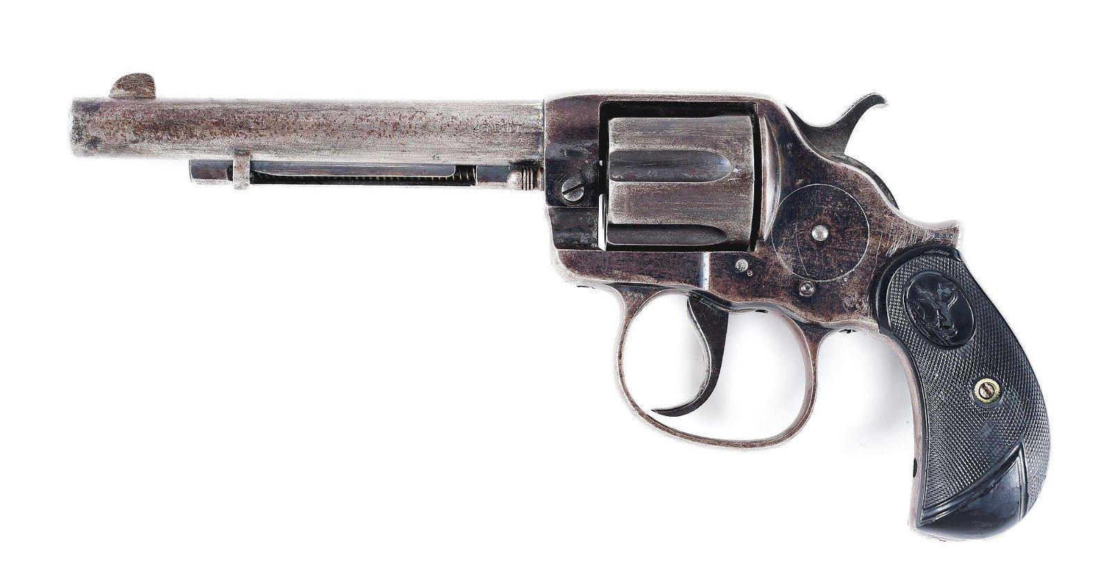 (C) COLT MODEL 1878 DOUBLE ACTION REVOLVER (1901).