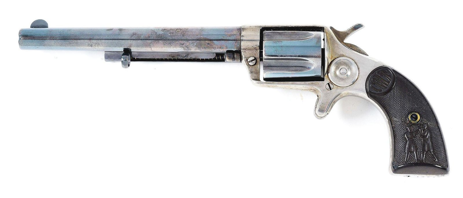(C) COLT COP AND THUG SINGLE ACTION REVOLVER