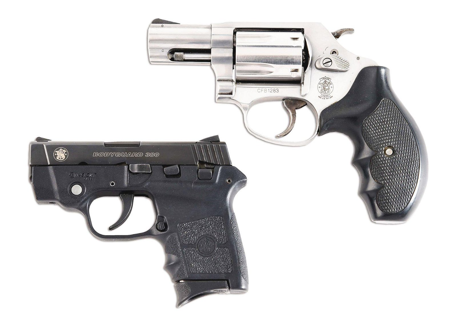 (M) LOT OF 2: SMITH AND WESSON 60-14 REVOLVER AND