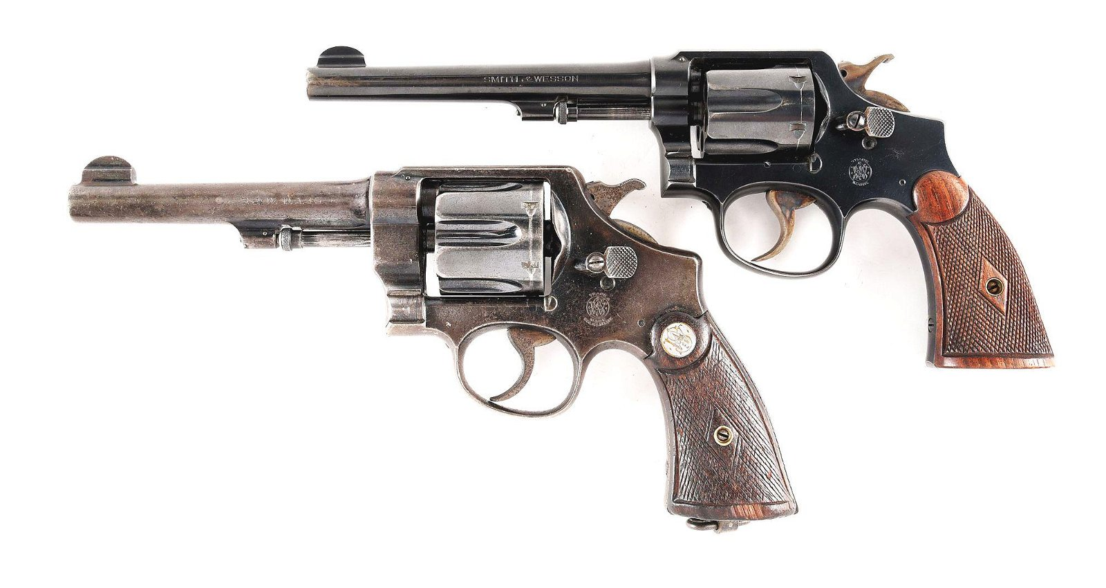 (C) LOT OF TWO: SMITH & WESSON 1905 .32-30 AND