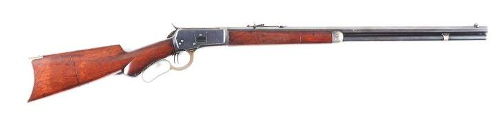 (C) WINCHESTER 1892 .38-40 WCF LEVER ACTION RIFLE.