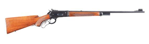 (C) WINCHESTER MODEL 71 DELUXE LEVER ACTION RIFLE.