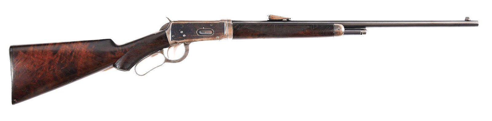 (C) DELUXE MODEL 1894 WINCHESTER TAKE-DOWN LEVER ACTION