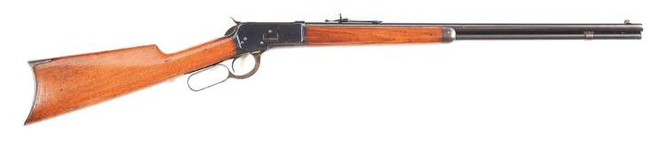 (C) WINCHESTER MODEL 1892 .25-20 WCF LEVER ACTION RIFLE