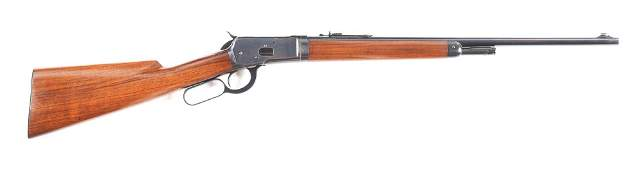 (C) WINCHESTER MODEL 53 TAKEDOWN .32 WCF LEVER ACTION