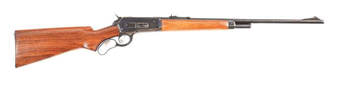 (C) WINCHESTER MODEL 71 .348 WCF LEVER ACTION RIFLE
