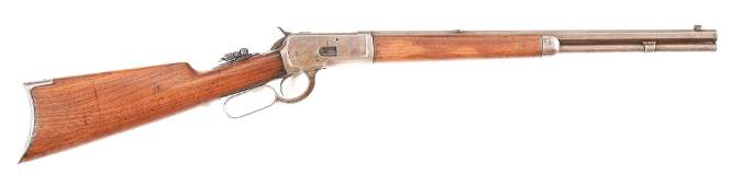 (C) WINCHESTER MODEL 1892 .32 WCF LEVER ACTION RIFLE