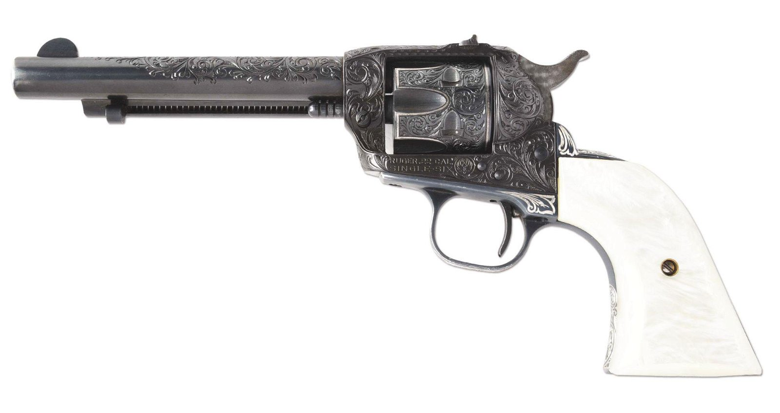 (M) RUGER SINGLE SIX .22 REVOLVER