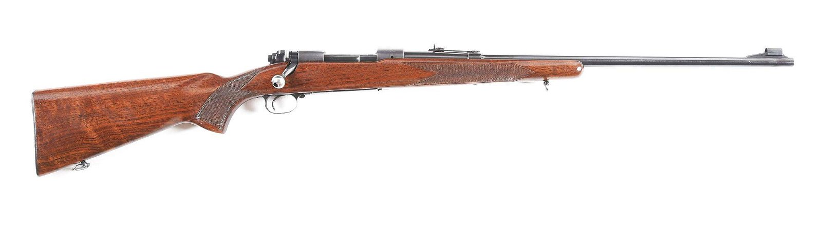 (C) WINCHESTER 70 BOLT ACTION RIFLE.