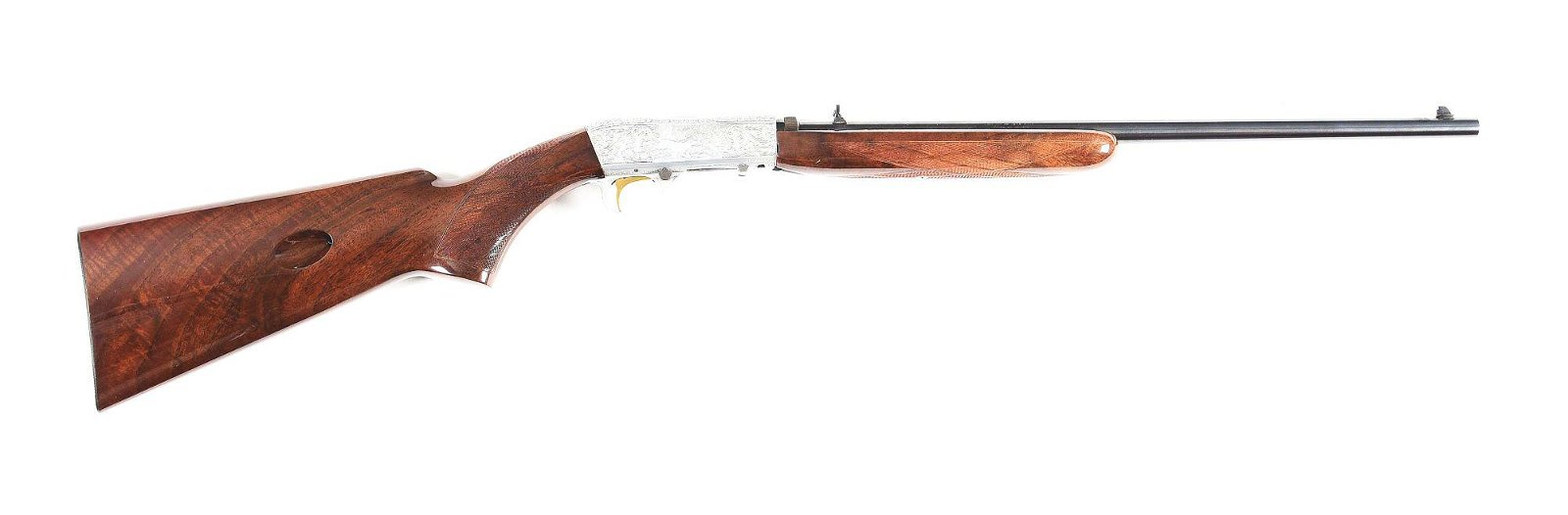 (M) GRADE III BROWNING SEMI AUTOMATIC .22 RIFLE.