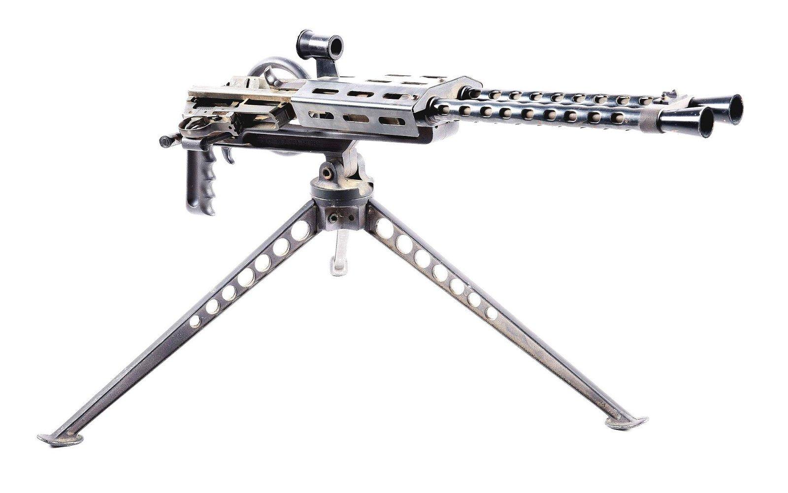 (C) CALICO M-1 II .30 SEMI AUTOMATIC RIFLES GATLING GUN