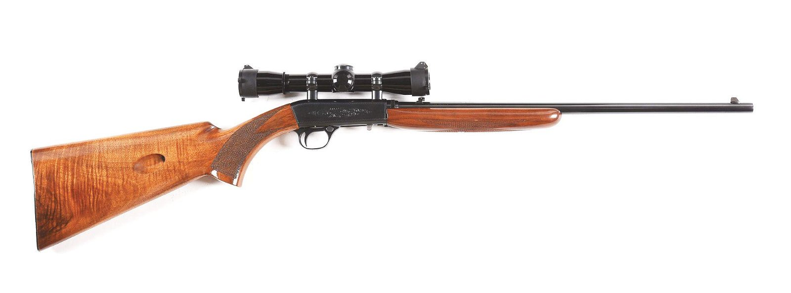 (C) BROWNING .22 LR SEMI AUTOMATIC RIFLE WITH FACTORY