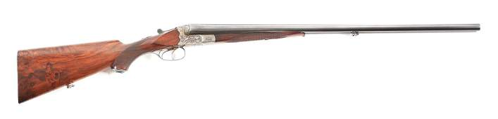 C J P SAUER  SOHN BOXLOCK SIDE BY SIDE SHOTGUN
