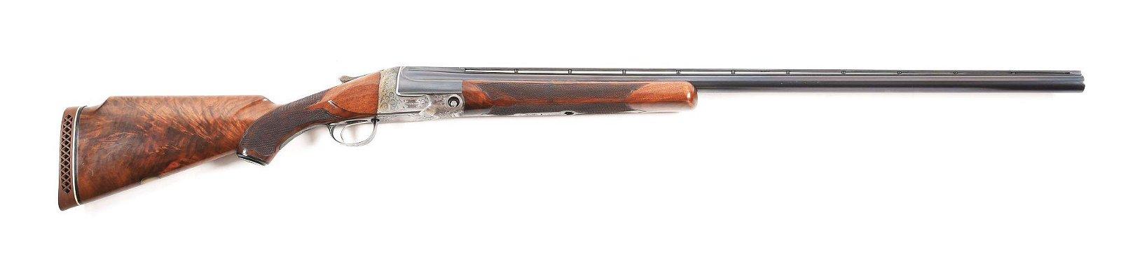 (C) PARKER SC 12 GAUGE SINGLE SHOT SHOTGUN.
