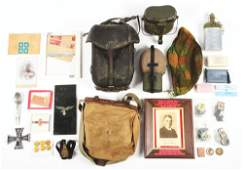 LARGE MIXED LOT OF WWII AND POST WWII GERMAN  SWISS