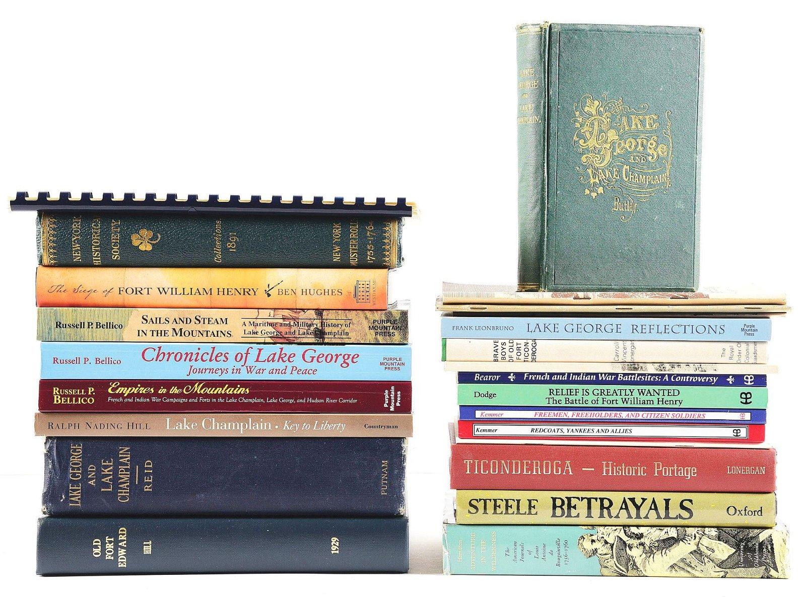 LOT OF 24: BOOKS.
