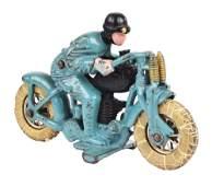 CAST-IRON HUBLEY HILLCLIMBER MOTORCYCLE.