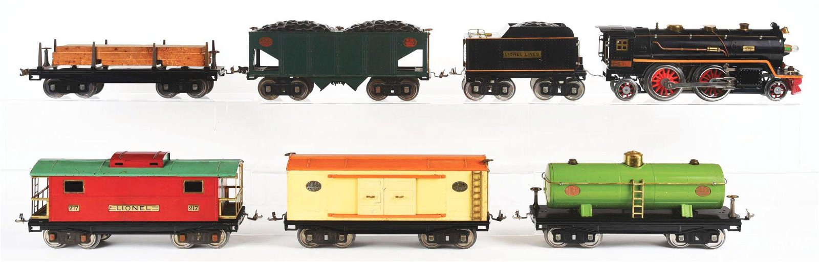 LIONEL PRE-WAR STANDARD GAUGE NO. 390 FREIGHT TRAIN