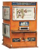 10 POSTCARD AND STAMP VENDING MACHINE