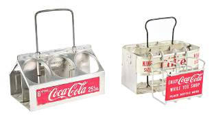 LOT OF 3 COCACOLA BOTTLE HOLDERS