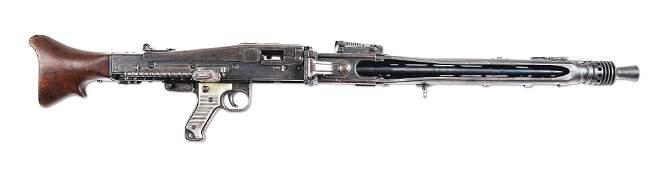(N) FABULOUS EARLY PRODUCTION ICONIC WW2 GERMAN MG-42