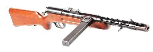 (N) RARE EARLY GERMAN CONTRACT BERGMANN MP-34