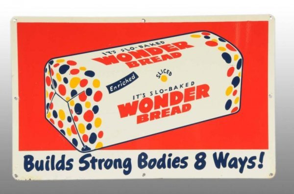 102: Tin Wonder Bread Sign.