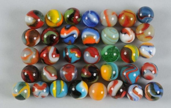 905: Assortment of Machine-Made Marbles.