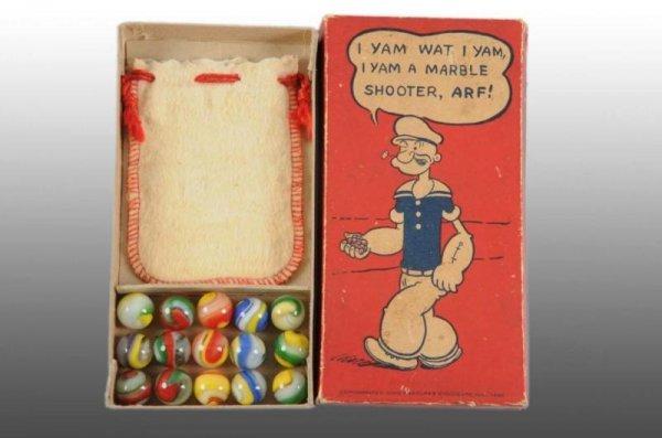 909: Popeye Original Marble Box.