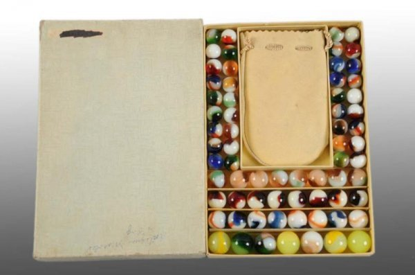 912: No. 50 Boxed Marble Gift Set.