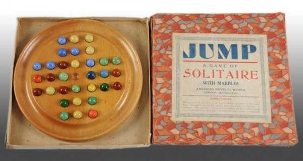 914: Lot of 3: Boxed Marble Games.