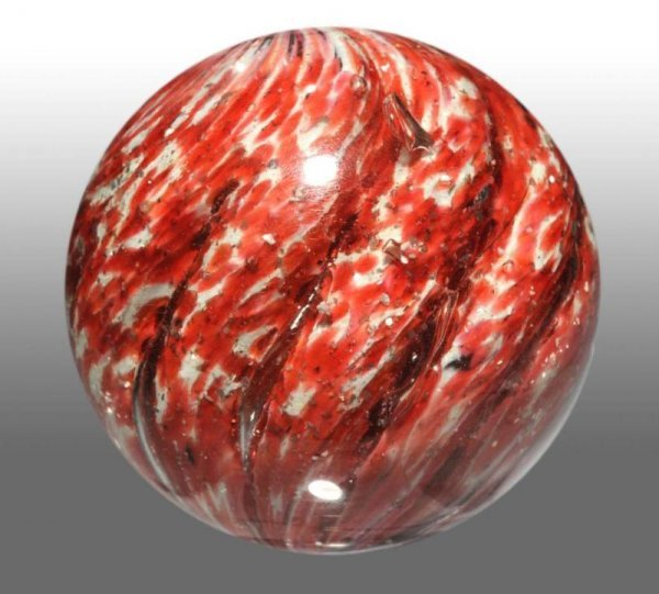 917: Lobed Onionskin Marble with Mica.