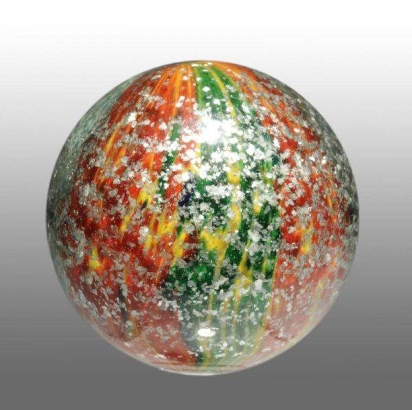 926: 4-Panel Onionskin Blizzard Mica Marble.