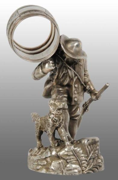 1123: Rip Van Winkle Figural Napkin Ring.