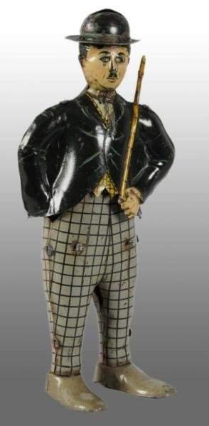 1339: Tin Litho INGAP Charlie Chaplin Wind-Up Toy.