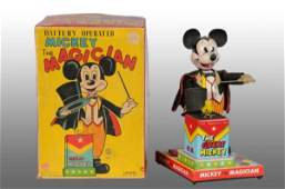 1448: Linemar Disney Mickey the Magician Toy.