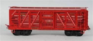 1531 Pressed Steel Buddy L Outdoor Railroad Cattle Car