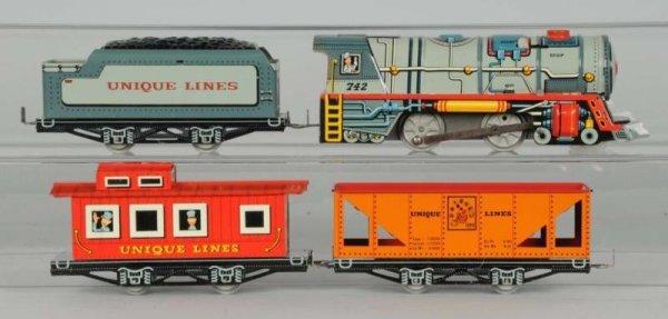 1600: Unique Lines No. 500 Mechanical Freight Train Set