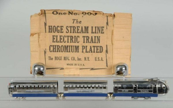 1607: Hoge No. 900 Streamline Passenger Train Set.