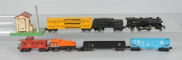 1614: Lot of 28: Lionel & Other Train Cars & Accessorie