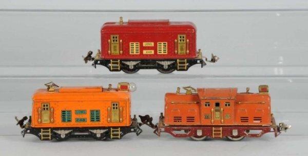 1615: Lot of 3: Lionel O-Gauge Locomotives.